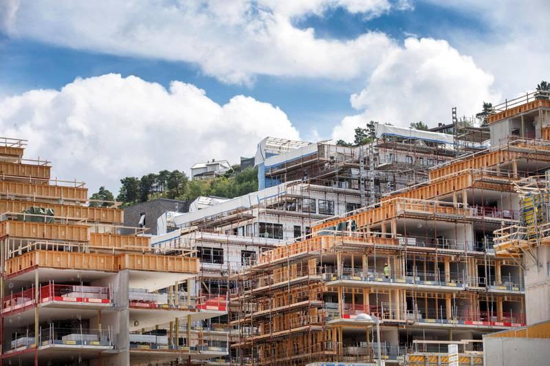 De siste 20 årene er det blitt 200.000 flere mennesker i Oslo, men det er bare bygget 60.000 nye boliger, skriver Nikolai Astrup. Foto: Gorm Kallestad/NTB