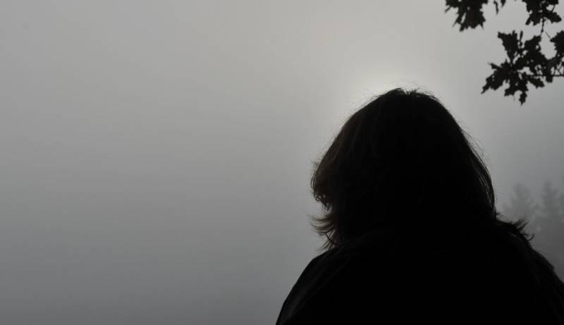 Deprimert kvinne. Fortvilet. Trist. Desperat.  A woman with depression.  Foto: Frank May / NTB scanpix NB! MODELLKLARERT