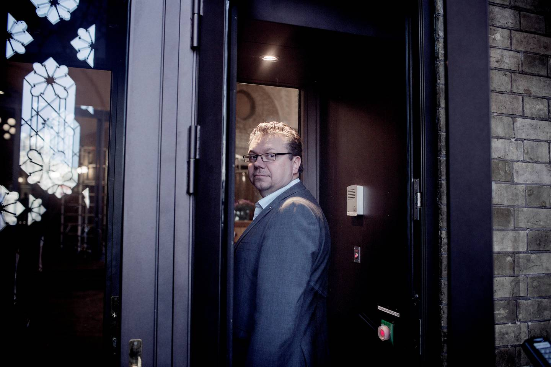 Kritisk: Ulf Leirstein (Frp) er lite imponert over Sykehuset Østfold. – Det er noe råttent der, sier han. FOTO: HILDE UNOSEN