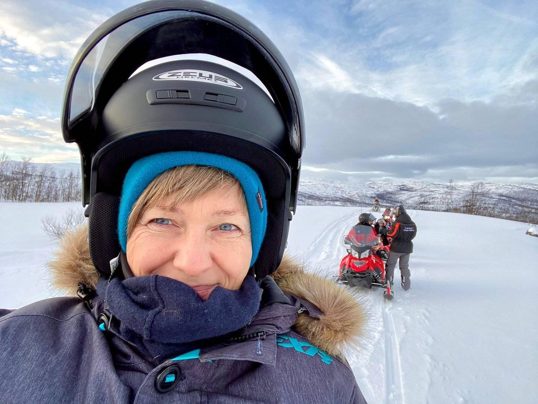 Reiseblogger Ann-Mari Gregersen (49) har  tilbrakt mye tid i nord. Foto: Ann-Mari Gregersen/Alltidreiseklar.no/NTB