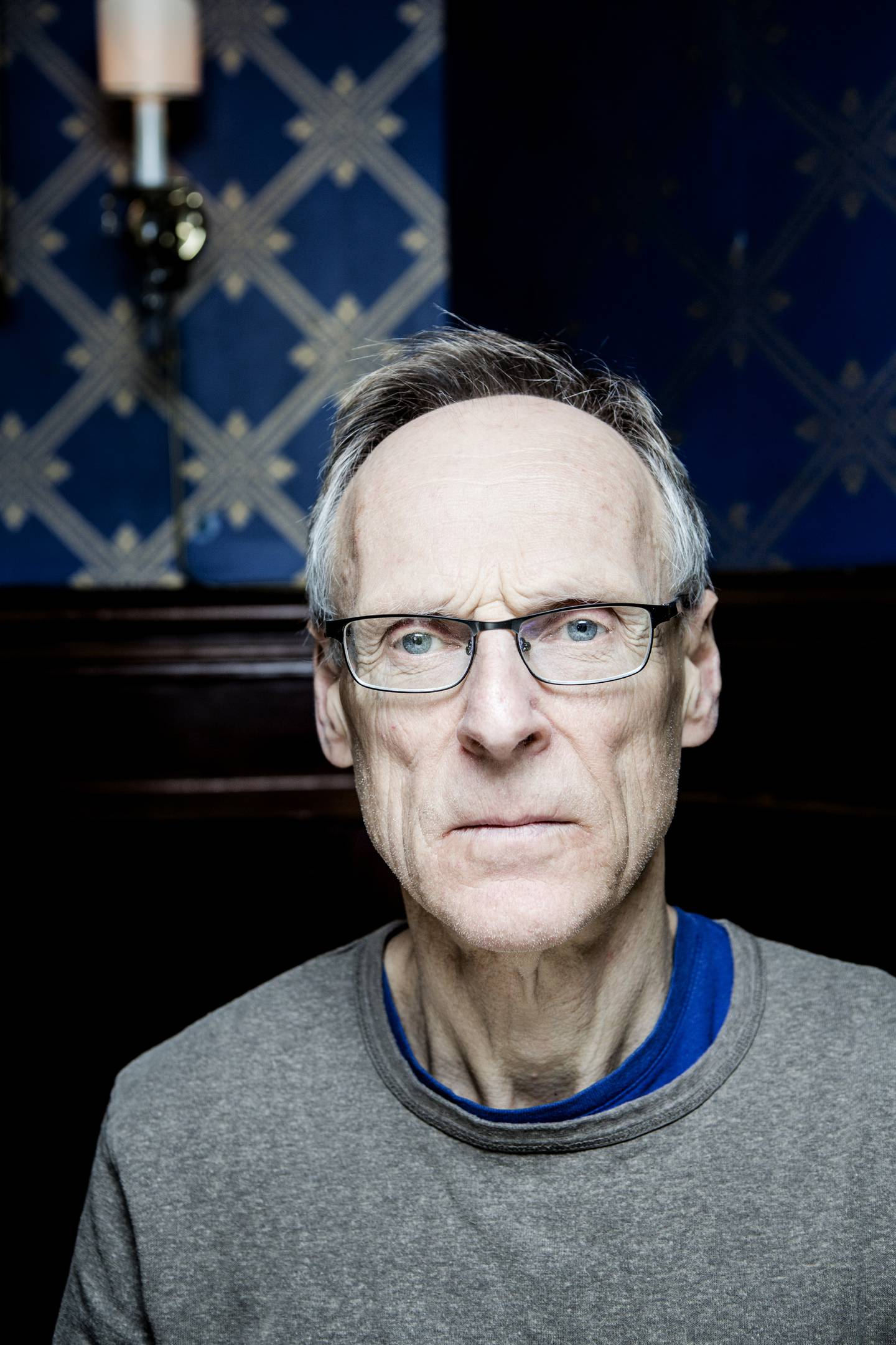 Oslo. 28.11.2014. Kritiker og forfatter Espen Søbye. Foto: Fredrik Bjerknes
