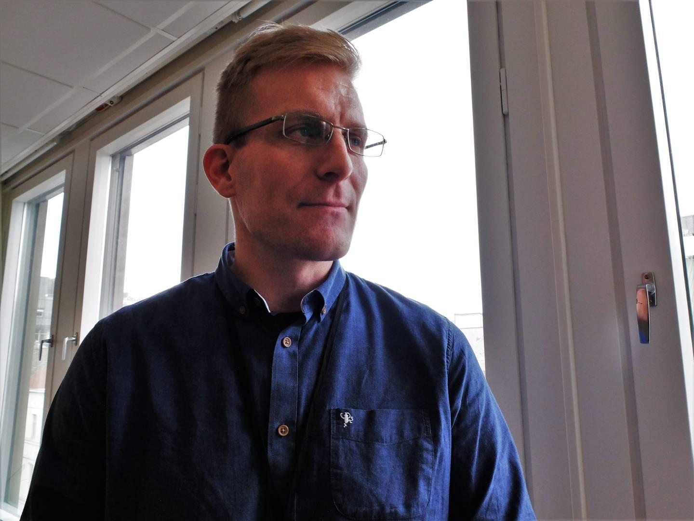 Kommuneoverlege John David Johannessen i Drammen kommune.