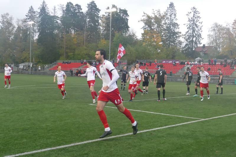 Ismar Dizdar har scoret Ullerns tredje mål søndag.