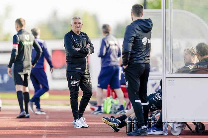 Brann-trener Kåre Ingebrigtsen har hatt lite å juble for denne sesongen. Foto: Håkon Mosvold Larsen / NTB