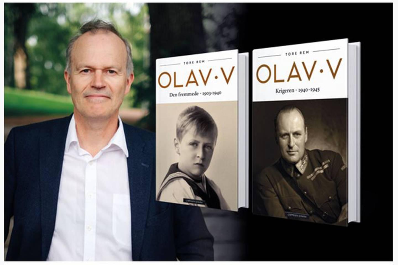 Kommer med del to av sin biografi om Kong Olav: Tore Rem