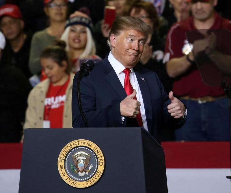 MAGA: Donald Trump er en mester i å spille på forestillingen om mannen som ingen trenger i sin politiske retorikk. FOTO: LEAH MILLIS/NTB SCANPIX