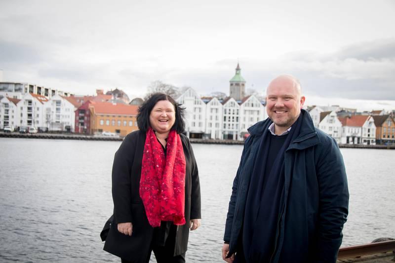Region Stavanger, Gunhild Vevik, Thomas Bergeland