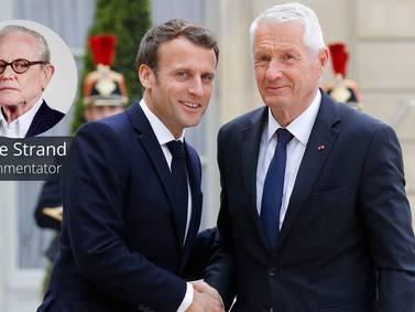 Jagland ser med stor bekymring på utviklingen i internasjonal politikk med splittelse mellom stormaktene
