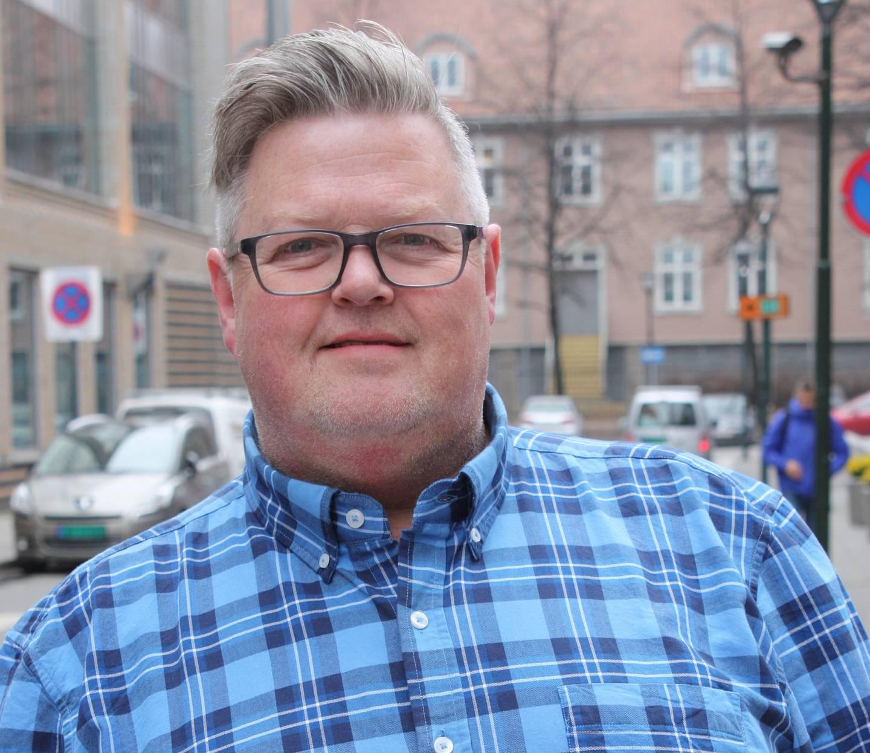 Daglig leder Stig Eid Sandstad i Ung i trafikken.
