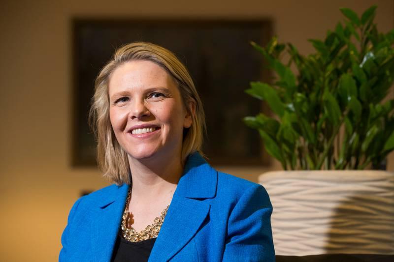 Permittert Innvandrings- og integreringsminister Sylvi Listhaug (Frp) ble lørdag formiddag mor til en liten gutt. Det er hennes tredje barn.