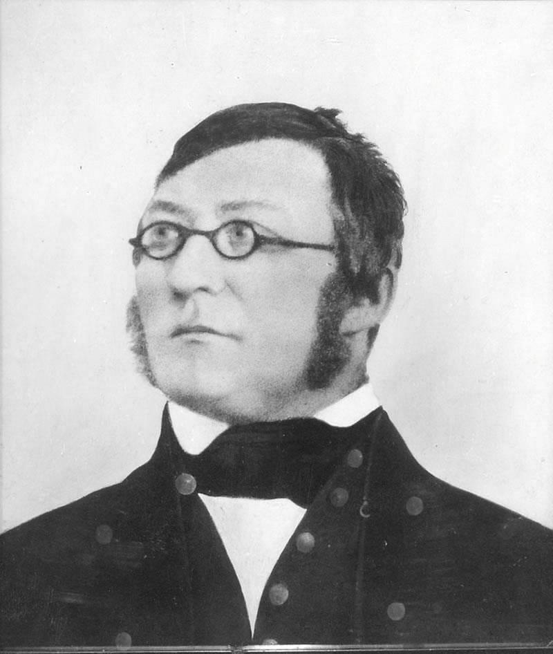 Henrik Wergeland var gift med Amalie S. Bekkevold fram til sin død i 1845.