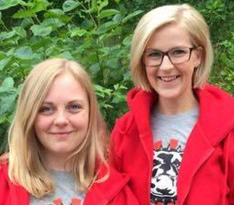 Monica Sivertsen (t.v.) og Elise Waagen.