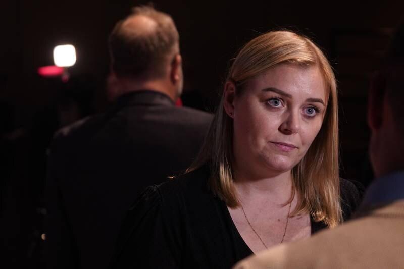 Høyres nestleder Tina Bru mener at Ap og Sp ikke har utnyttet åtte år i opposisjon godt nok. Foto: Ole Berg-Rusten / NTB