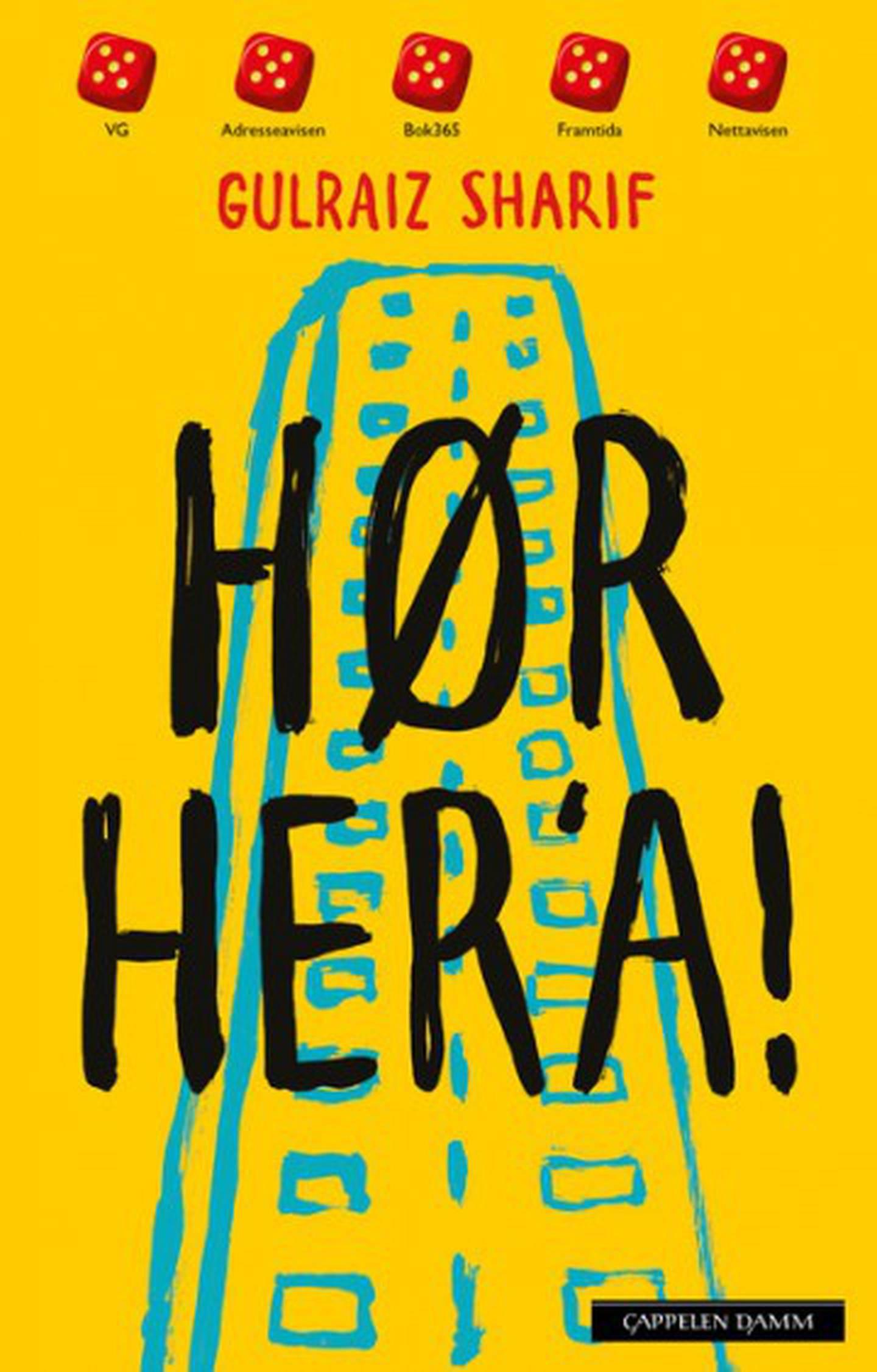 «Hør her 'a» av Gulraiz Sharif er tildelt Kulturdepartementets debutantpris for barne- og ungdomslitteratur