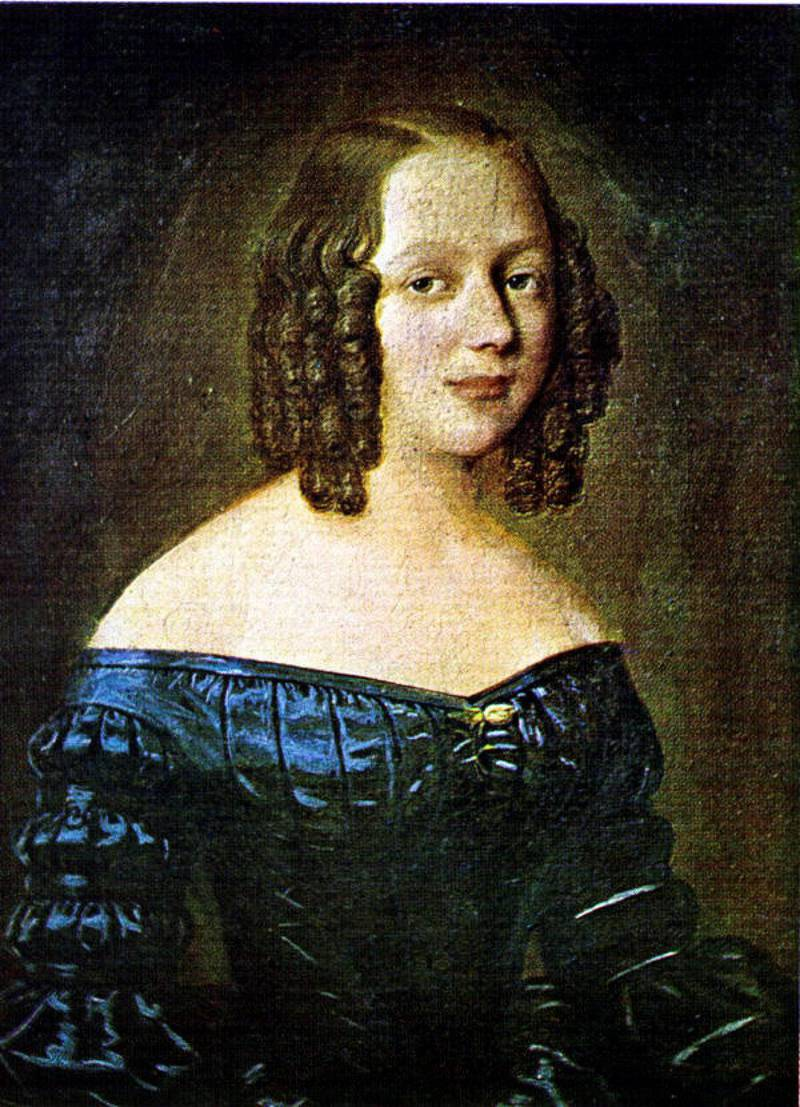 Amalie Sofie Bekkevold giftet seg med Henrik Wergeland i 1839.