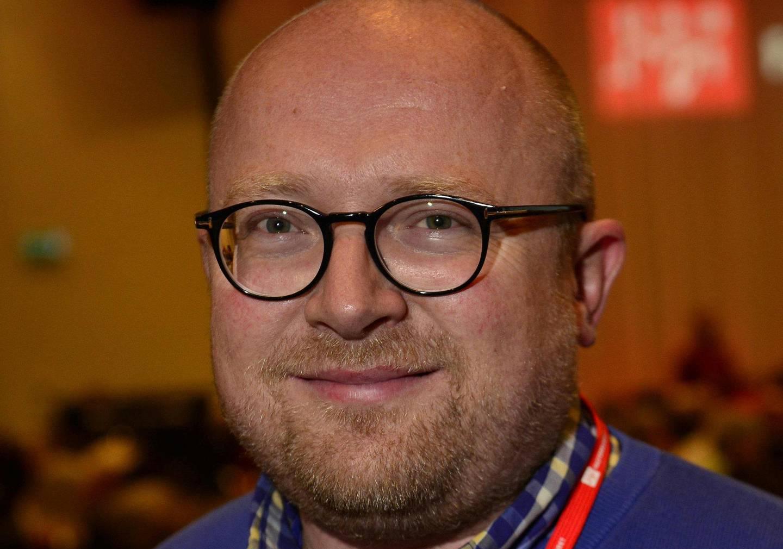 konferanse: Trond Finstad, leder av yrkesseksjonen kontor og administrasjon i Fagforbundet. FOTO: FAGFORBUNDET