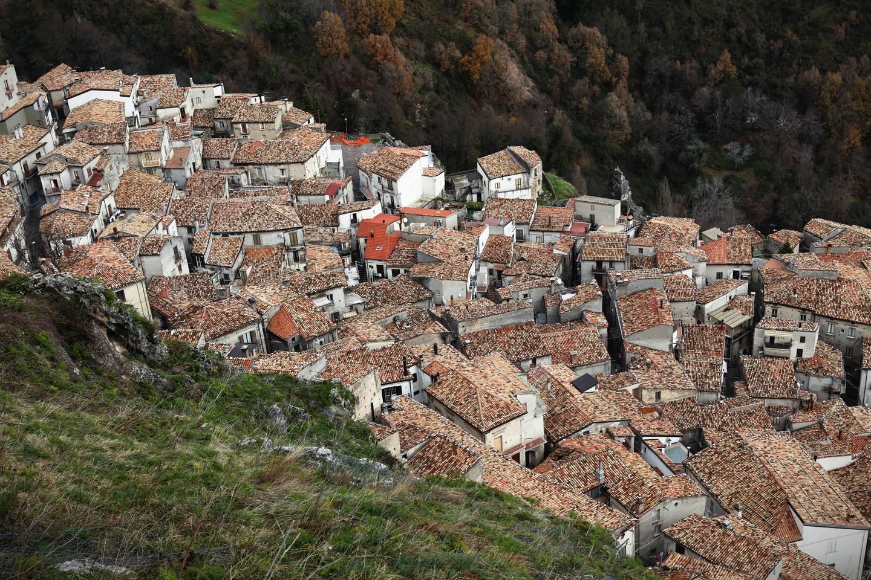 Den skjulte landsbyen San Donato Di Ninea