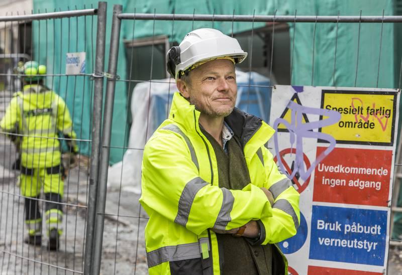Prosjektleder Lars Mamen i Fair Play Bygg.