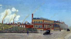 Industristrøk ved byens port
