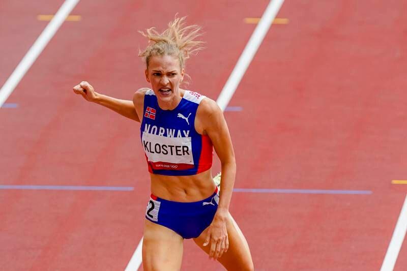 Line Kloster ga alt, men det holdt ikke til semifinaleplass i OL. Foto: Lise Åserud / NTB
