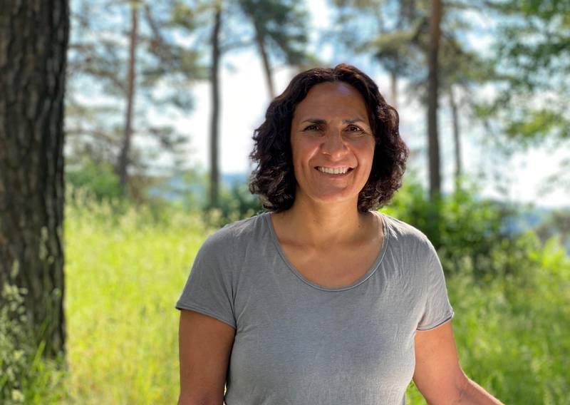 Landskapsarkitekt Kristina Holmblad.