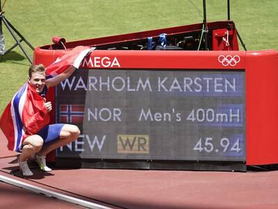 Warholms verdensrekord endelig godkjent