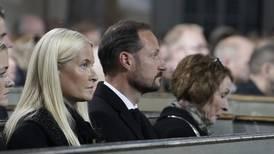 Sørgegudstjeneste for de drepte på Kongsberg