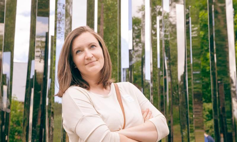 Nora Egeberg (35), daglig leder i Drammen kulturråd.