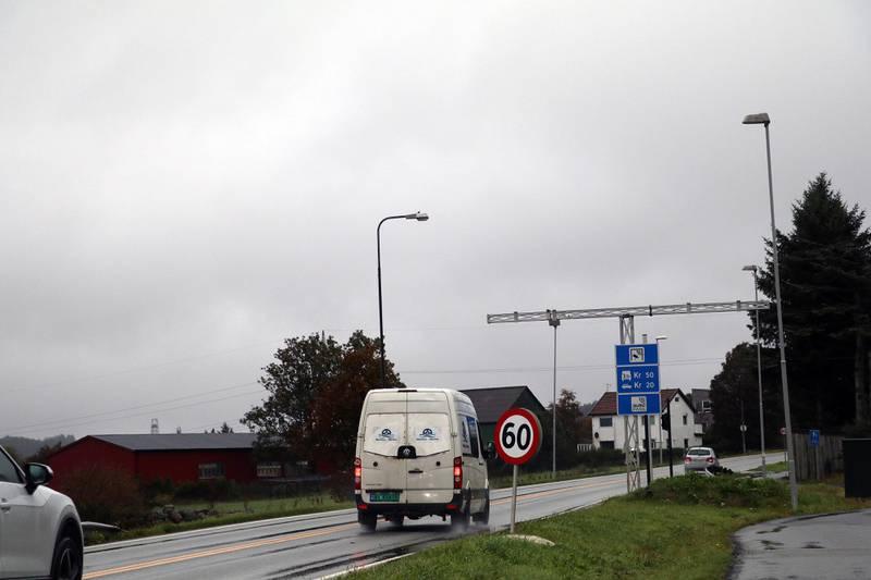 Bomstasjonen på Nesbuveien skal settes ut av drift fra mandag.