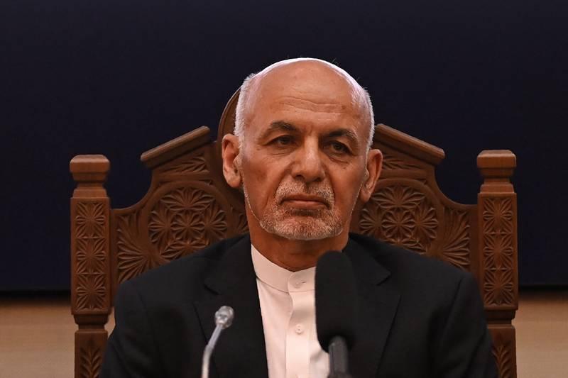 Afghanistans president Ashraf Ghani