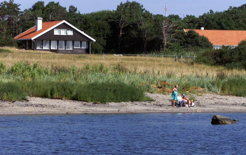 Det er slike strandområder som dette på Hvasser i Vestfold som er underlagt allemannsretten.