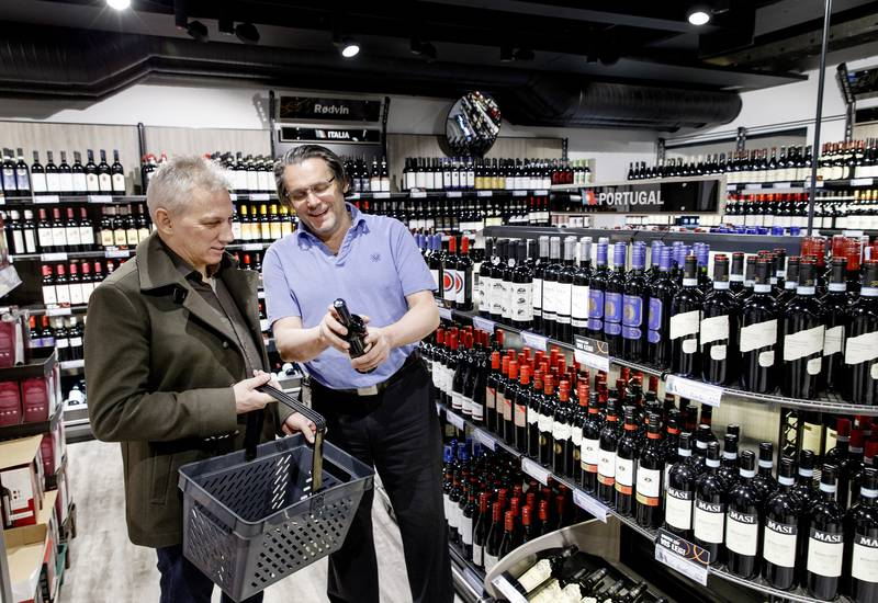 Vinmonopolet er den norske virksomheten med best omdømme i koronaåret, ifølge PR-byrået Apelands. Foto: Gorm Kallestad / NTB