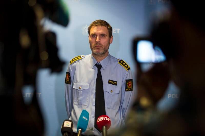 Politiadvokat Fredrik Martin Soma under en pressekonferanse tidligere i år.