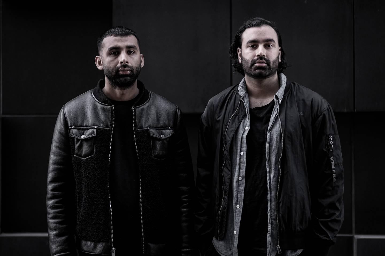 Filmskaperne Adel Khan Farooq og Shan Qureshi
