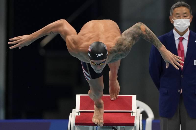 Caeleb Dressel satte ny verdensrekord i OL-bassenget.