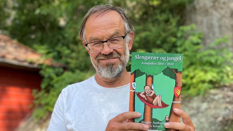 – Mange av dei kulaste amerikanske orda er eigentleg norske. Sånne som «kids» «skills» og «trolling», sier leder av Fredrikstad Mållag, Magne Aasbrenn. Nå er han ute med boka «Slengærær og jangel».