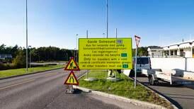 Politiet: Forvent kø ved grenseovergangene tross gjenåpning