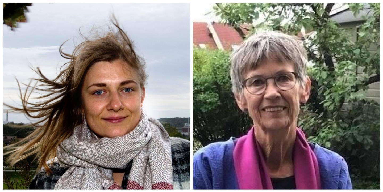 Hannah Berg (gruppeleder), og Laila-Brith Josefsen (oppvekstutvalget), Rødt Fredrikstad