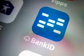 BankID var nede torsdag formiddag