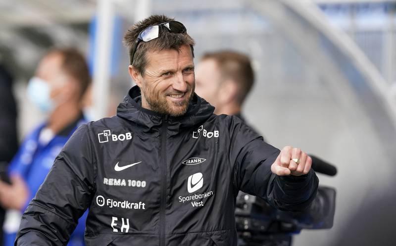 Eirik Horneland skal midlertidig lede Brann etter at Kåre Ingebrigtsen ble sparket. Foto: Jan Kåre Ness / NTB