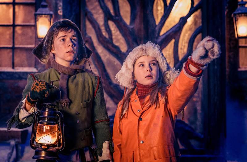 Med et seertall på over 900.000, er «Snøfall» blitt den mest sette julekalenderen på TV. FOTO: LENA SAUGEN/NRK