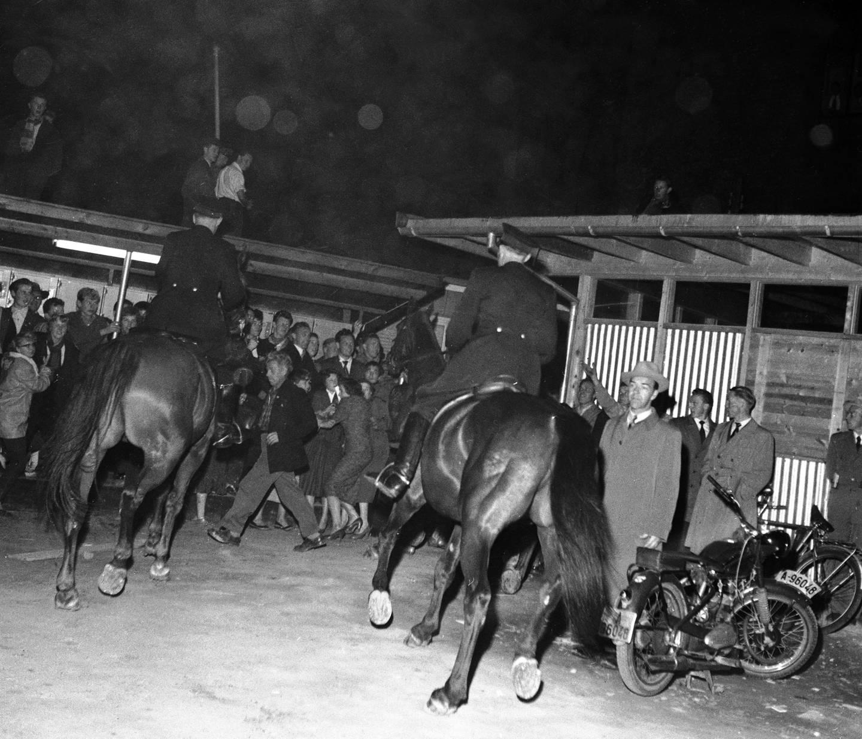 Urolighetene i Oslo varte i tre dager etter premieren på «Rock Around the Clock» i september 1956.