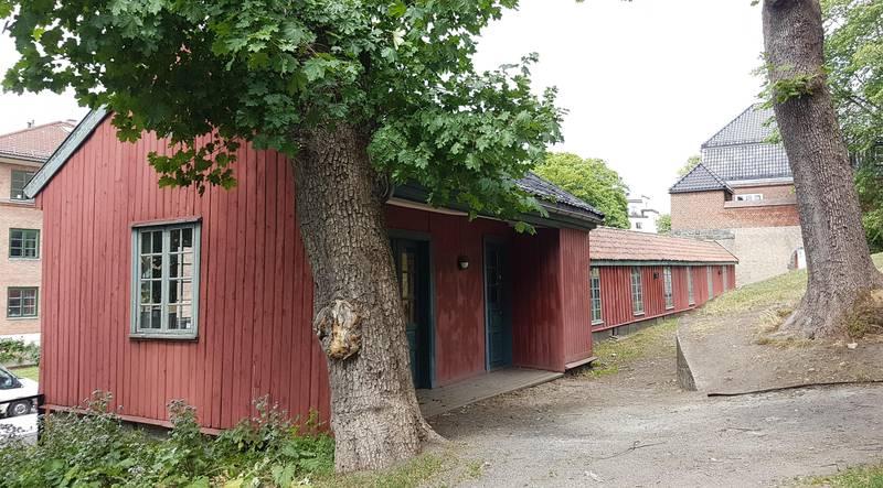 Kjeglebanen på Langaardsløkka i 2018. Punchhuset nærmest. FOTO: BEATE MURI