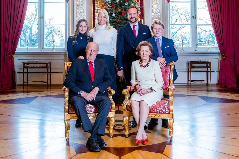 LØNN: Hva kalles kongens lønn? Bildet er fra julefotograferingen for to år siden. Foto: Håkon Mosvold Larsen / NTB