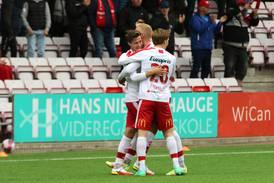Fredrikstad slet, men vant 2-0 over Ull/Kisa