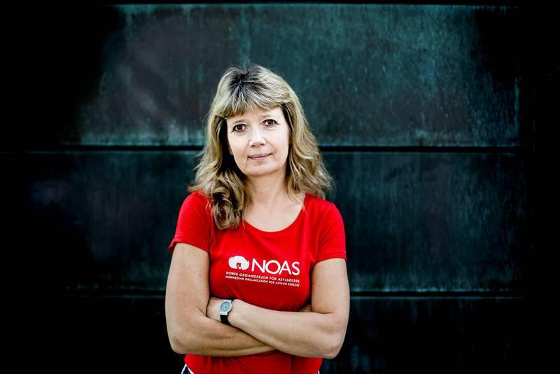 NOAS-leder Ann-Magrit Austenå. FOTO: FREDRIK BJERKNES