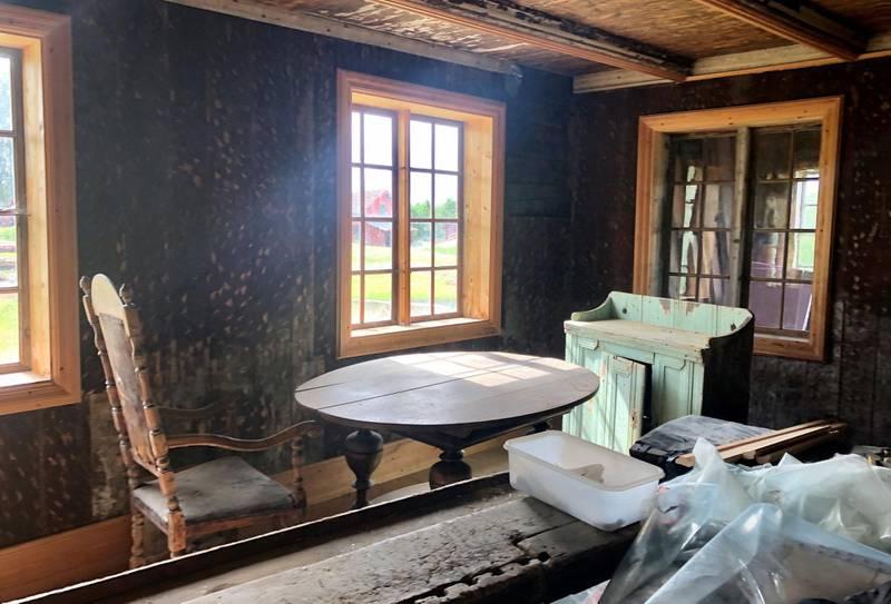 Snart blir det liv i stuene fra 16- og 1700-tallet igjen.