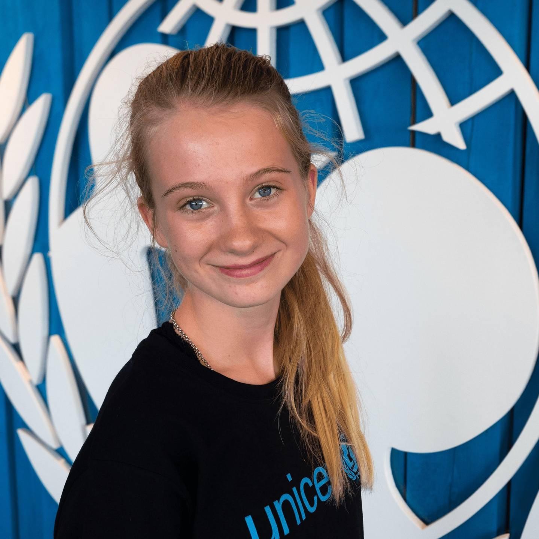 Penelope Lea er den første miljøaktivisten noen gang valgt som ambassadør i hele UNICEF-systemet.
