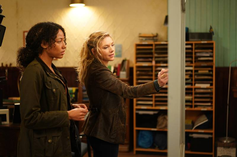 BIG SKY - ÒThe Wolves Are Always Out for BloodÓ Ð After Jenny and Cassie learn the truth about CodyÕs fate, they decide to officially team up to track down Ronald. Elsewhere, Merrilee grapples with the fact that she didnÕt truly know her husband, while Helen learns more about her sonÕs recent activities when ÒBig SkyÓ returns TUESDAY, JAN. 26 (10:00-11:00 p.m. EST), on ABC. (ABC/Darko Sikman)KATHERYN WINNICK