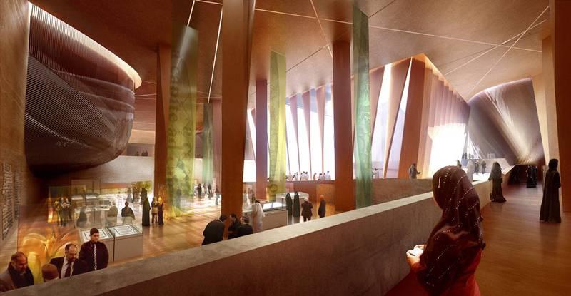 Det nye bygget inneholder også en stor hall som skal fungere både som utstillingsplass og sosiale eventer som banketter og konferanser.